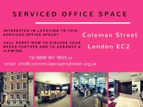 Serviced Offices - London - Coleman Street - Moorgate