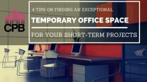 4 Tips on finding Temporary Office Space