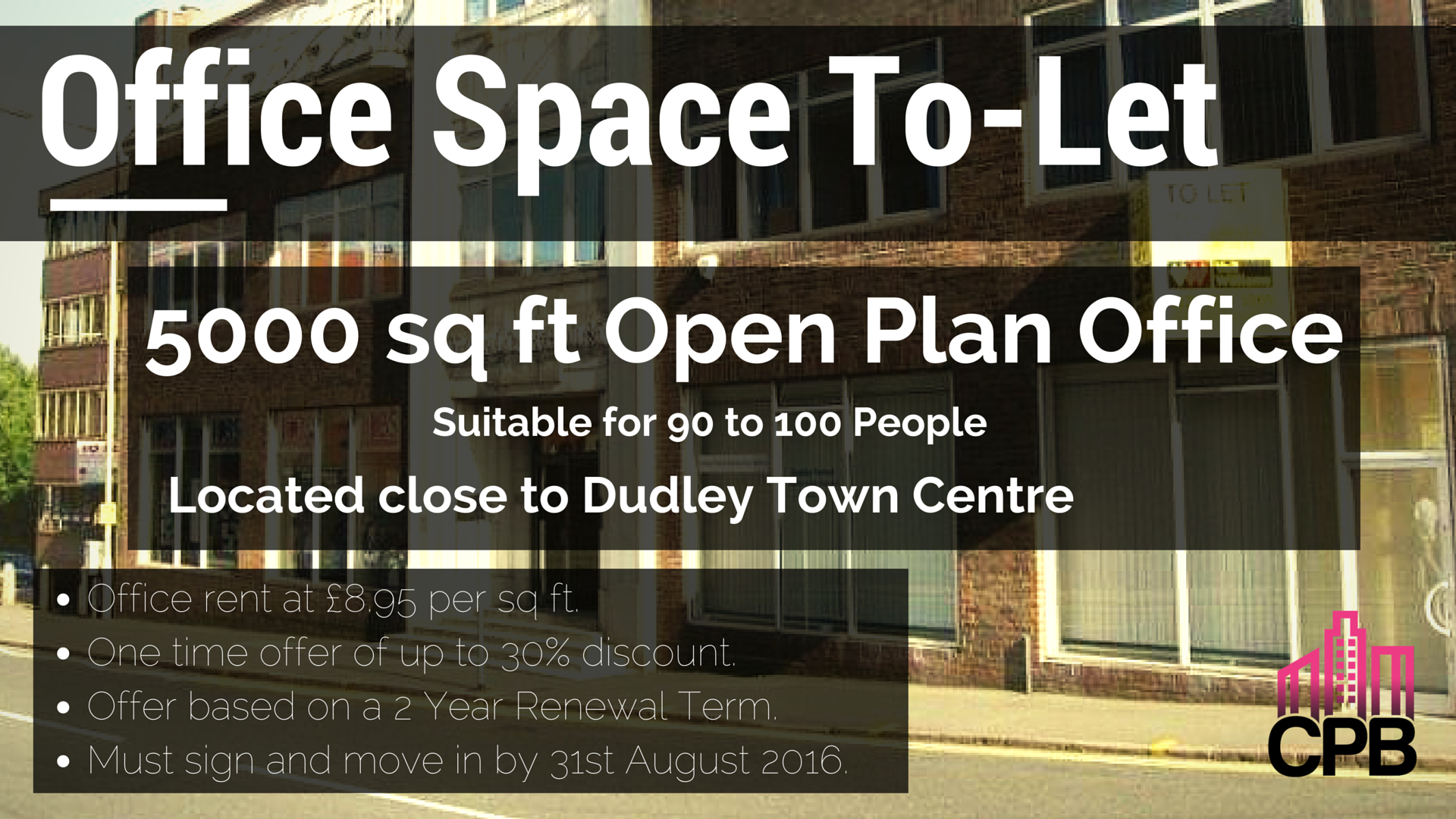 Office Space TO-LET Dudley DY2