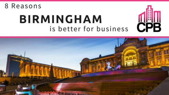 8 Reasons Birmingham is better for business