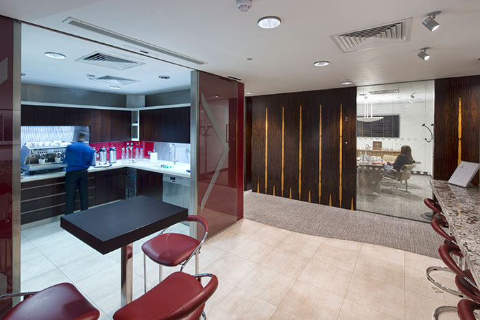 Serviced Office Space - Coleman Street, London - Kitchen Break Out Area image