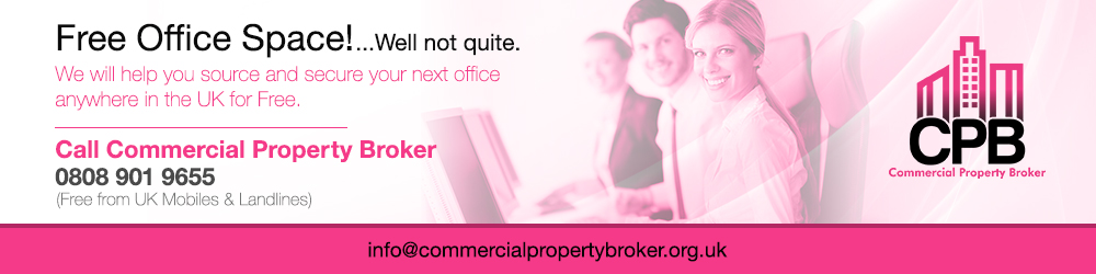 Free Office Space & Commercial Property Service banner image