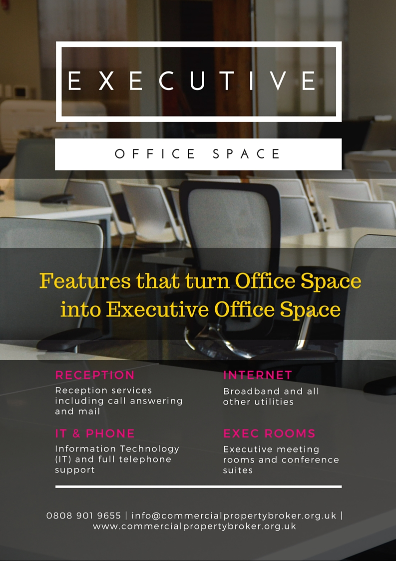 Executive Office Space Image - How Would it Suit Your Business