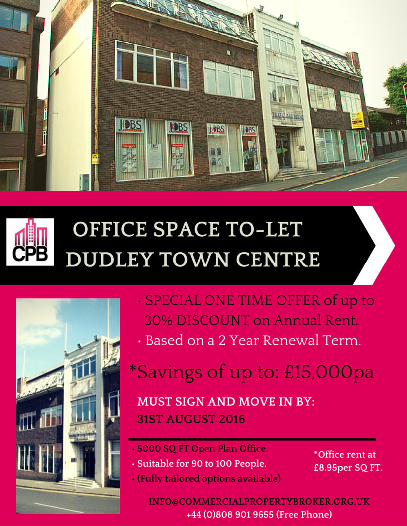 Office Space To-Let Dudley
