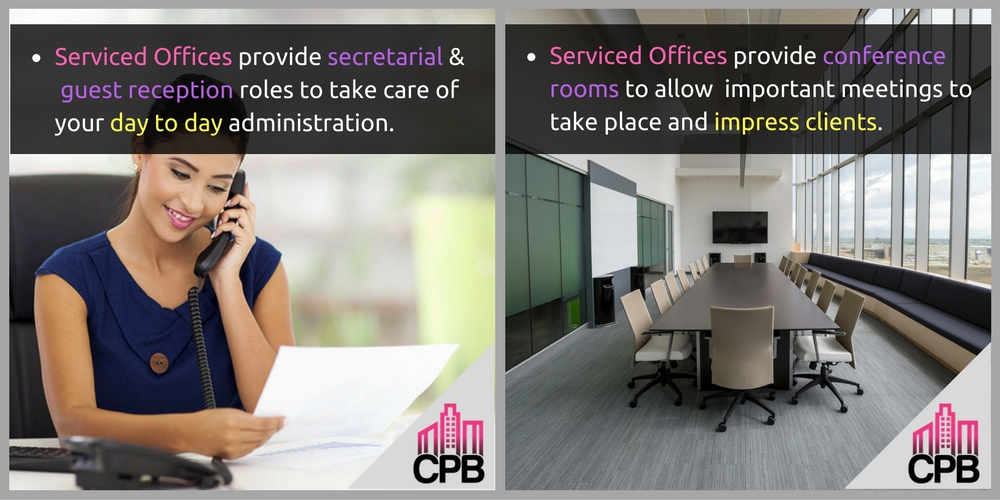 Serviced Office Amenities
