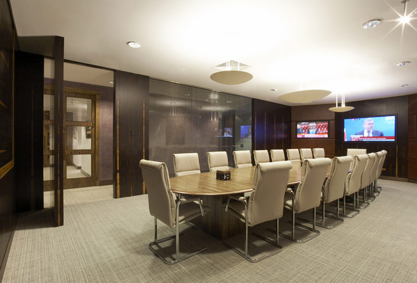 Serviced Office Space - Coleman Street, London - Boardroom View image