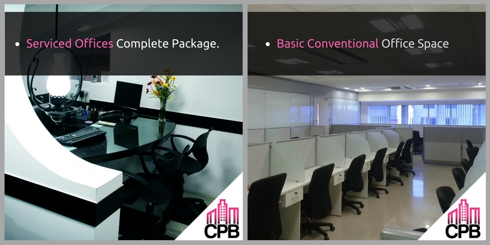 Serviced Offices vs Conventional Offices