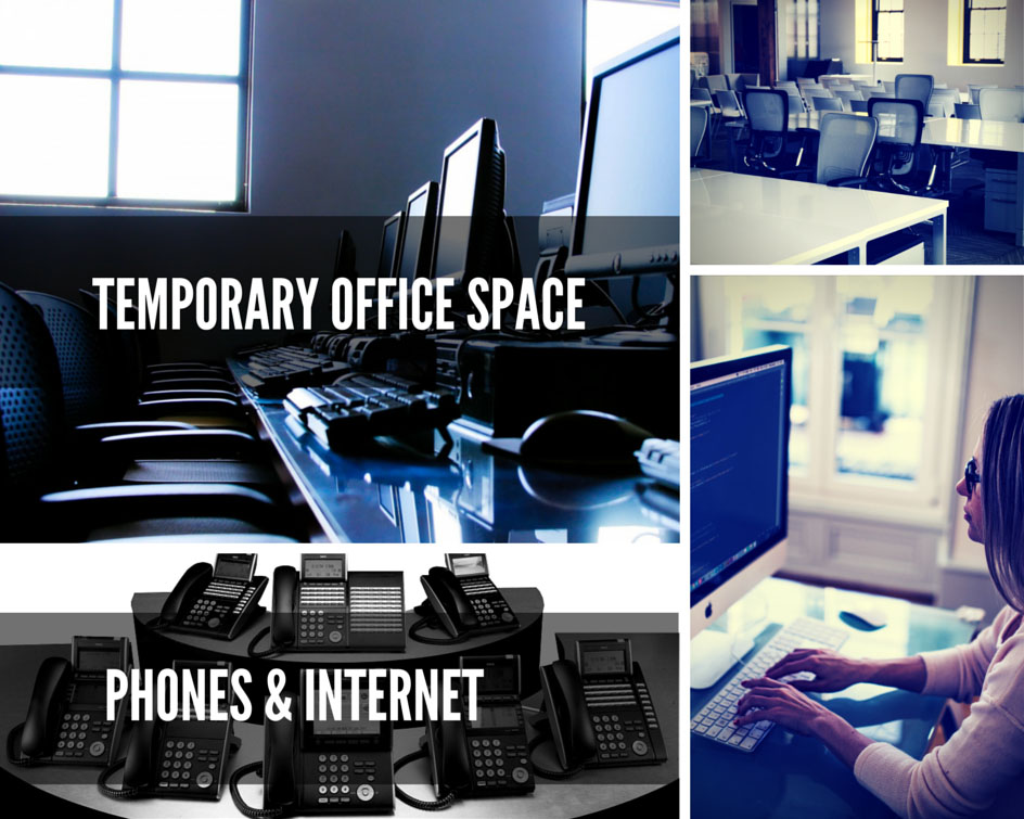 Temporary Office Space, Phones & Internet